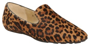 Jimmy Choo brown black leopard print Flats