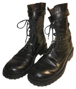 Ann Demeulemeester Leather Rare Black Boots