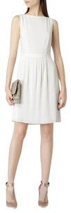 Reiss short dress White on Tradesy