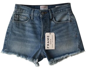 Frame Denim Cut Off Shorts