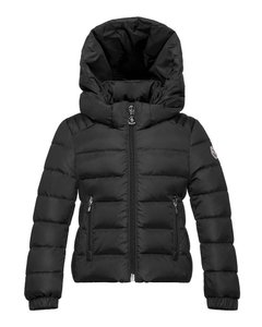 Moncler New Size 5 Little Kids Oiron Hooded Fitted Puffer