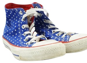 Converse Red, White, Blue Athletic