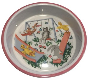 Tiffany & Co. Tiffany Playground Bowl and Matching Plate