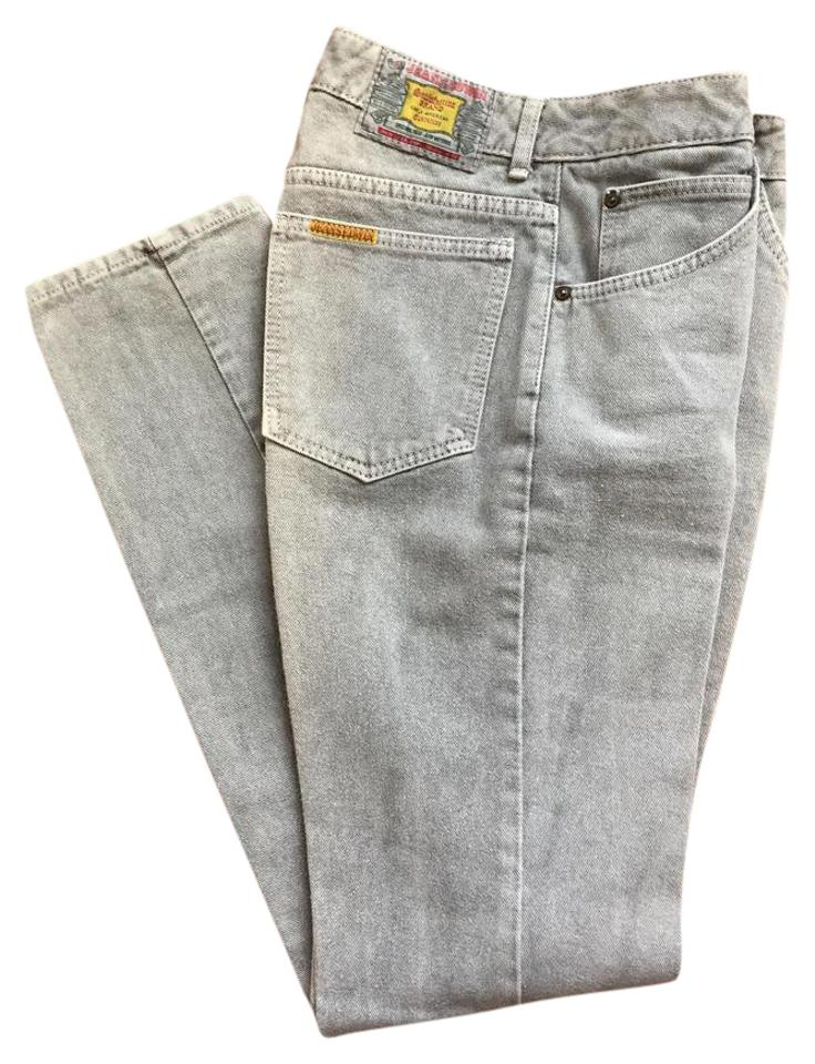 low priced aa75e 3fa1f Grey Light Wash London Slims Denim - Vtg. Late 1980's Straight Leg Jeans  Size 29 (6, M) 57% off retail