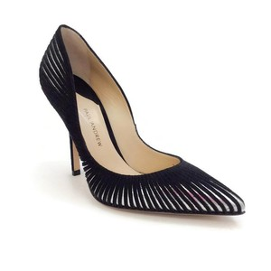 Paul Andrew black / silver Pumps