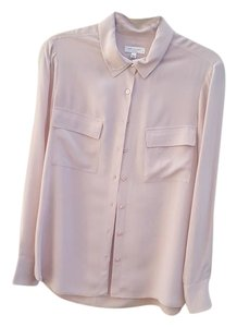 Equipment Silk Top Blush