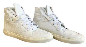 Balenciaga High Tops Sneakers Leather White Athletic