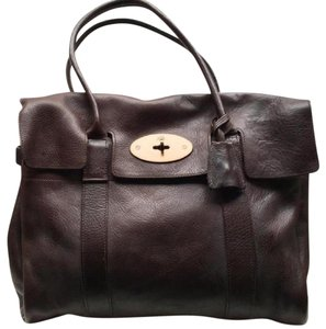 Mulberry Satchel in Dark brown