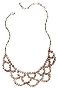 Anthropologie ONDINE BIB NECKLACE - Peach