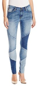 Buffalo David Bitton Reverse Skinny Jeans-Medium Wash