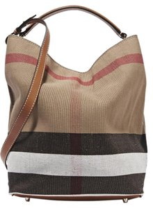 Burberry Brit Check Ashby Medium Shoulder Bag