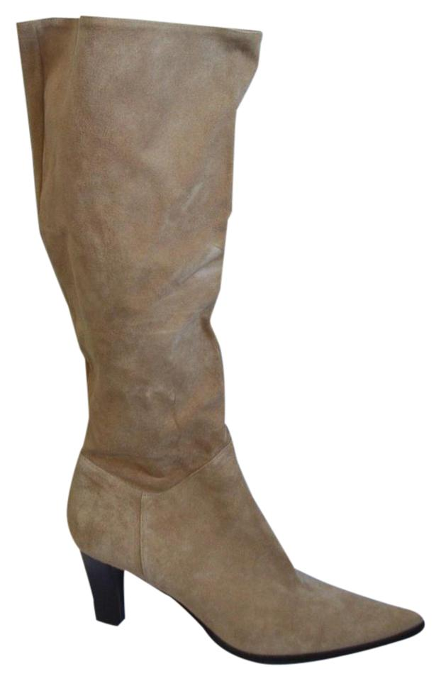 Kenneth Camel Cole Camel Kenneth 'slouch Artist' Suede Boots/Booties 13d761