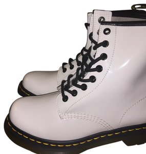 Dr. Martens white Boots