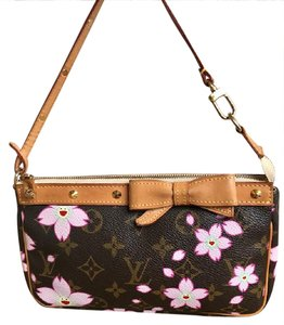 Louis Vuitton Limited Edition Cherry Blossoms Pochette Monogram Baguette