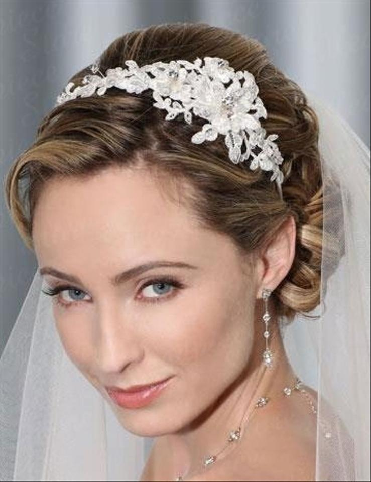 Bel aire bridal hp6 belaire 6335 lace headband tradesy for Bel aire bridal jewelry
