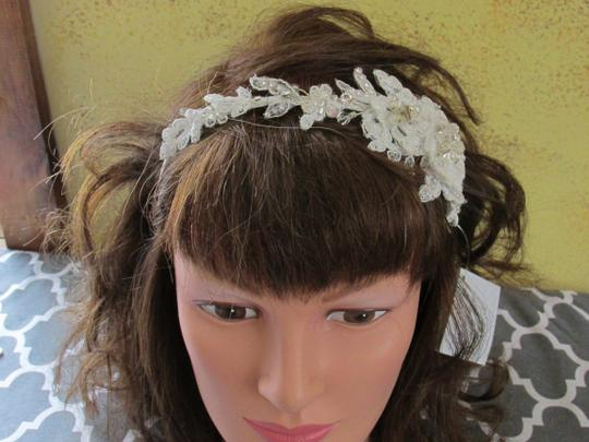 Bel Aire Bridal Hp6-belaire- 6335- Lace Headband