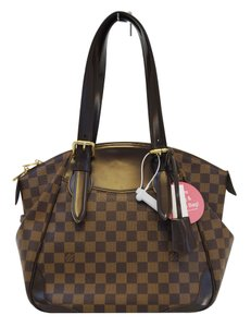 Louis Vuitton Lv Verona Mm Damier Ebene Handbag Shoulder Bag