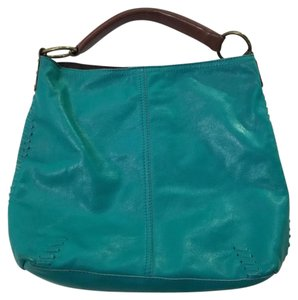 Lucky Brand Leather Pebbled Slouchy Shoulder Bag