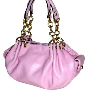 Juicy Couture Leather Pink Spring Shoulder Bag