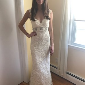 Jenny Lee Jenny Lee Lace Gown Wedding Dress