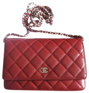 Chanel Wallet Chain Woc Flap Classic Cross Body Bag