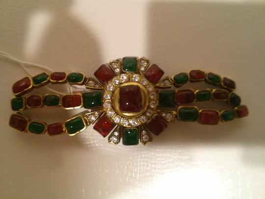 Chanel Vintage Chanel Multi-Color Brooch