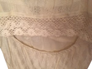 Free People short dress Cream Bohemian Stunning Lovers Folk Song on Tradesy