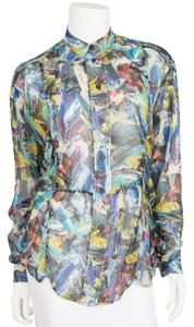Acne Studios Button Down Shirt Multi-color