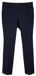 Ann Taylor Career Professional Womens Trouser Pants Navy blue