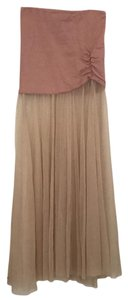 Free People Maxi Skirt blush nude