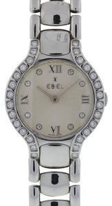 Ebel Ebel Beluga Stainless Steel Diamond Bezel Ladies Watch