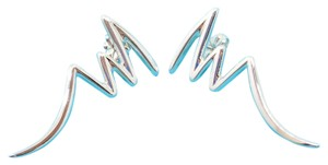 Tiffany & Co. Stunning Tiffany & Co. Paloma Picasso Sterling Silver Zig Zag Earring!!!
