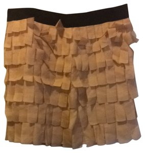J.Crew Skirt Peach Black