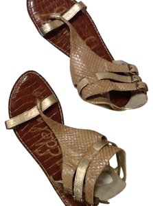Sam Edelman Gold, beige Sandals