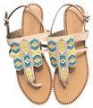 Twelfth St. by Cynthia Vincent Tan Sandals
