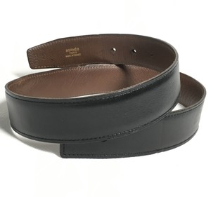 Hermès Authentic Hermes Leather Belt Strap