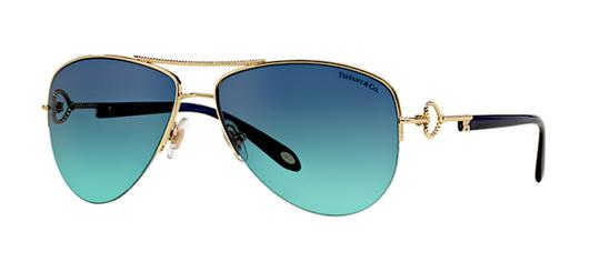 830d2ee57d15 tiffany   co gold blue gradient lens tf 3046 6094 new aviator with free 3  day shippi.