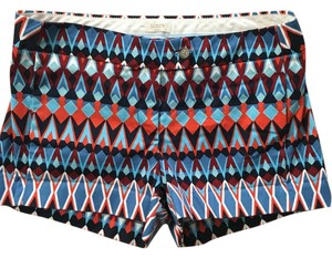 J.Crew Mini/Short Shorts Multi Color