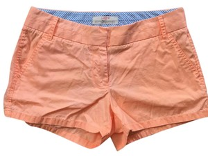 J.Crew Mini/Short Shorts Bright Orange