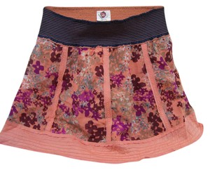 Free People Great Traveler Mini Skirt Multi