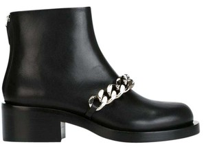 Givenchy Chain Ankle Black Boots