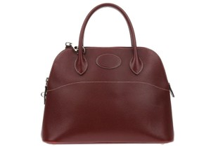 Hermès 2002 Satchel in Burgundy