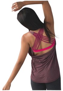 Lululemon Lululemon Wild Tank Heathered Bordeaux Drama sz6