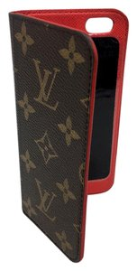 Louis Vuitton Louis Vuitton Signature LV Monogram Folio Red Iphone 6 6s Phone Case