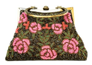 Other Dolce Gabbana Bead Handbag Vintage Satchel in Pink, green and red