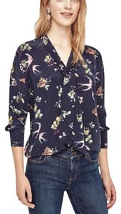 Ann Taylor Top navy