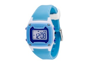 Freestyle 10019185 Shark Women's Blue Silicone Bracelet With Grey Digital Dial