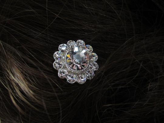 Silver Magnetic Veil Weights/ Clips Hair Accessory
