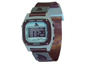 Freestyle 10026748 Shark Unisex Grey Nylon Bracelet With Grey Digital Dial