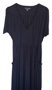 navy Maxi Dress by Anthropologie
